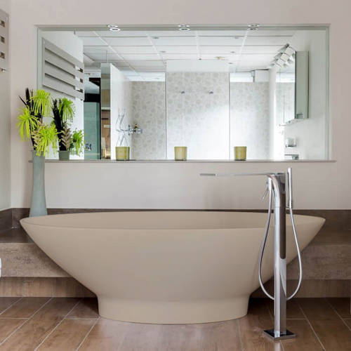 Additional image for Tasse ColourKast Bath 1770mm (Light Fawn).