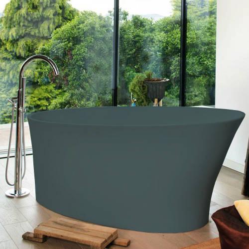 Additional image for Delicata ColourKast Bath 1520mm (Powder Blue).