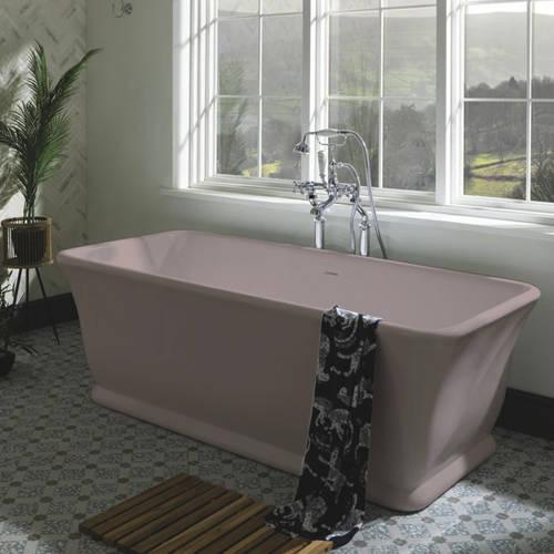 Additional image for Magnus ColourKast Bath 1680mm (Satin Rose).