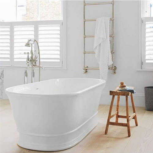 Additional image for Aurelius Bath 1740mm (Polished White).