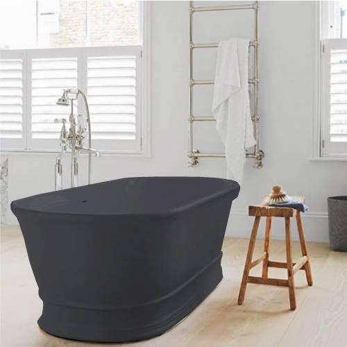 Additional image for Aurelius ColourKast Bath 1740mm (Gunmetal).