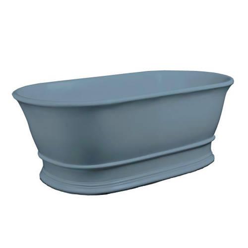 Additional image for Bampton ColourKast Bath 1555mm (Powder Blue).