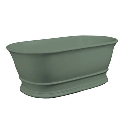 Additional image for Bampton ColourKast Bath 1555mm (Khaki Green).