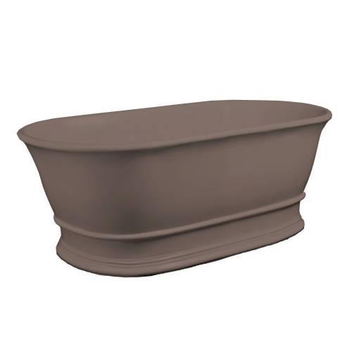 Additional image for Bampton ColourKast Bath 1555mm (Mushroom).