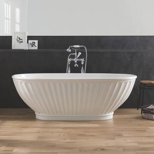 Additional image for Casini Bath 1680mm (Matt White).