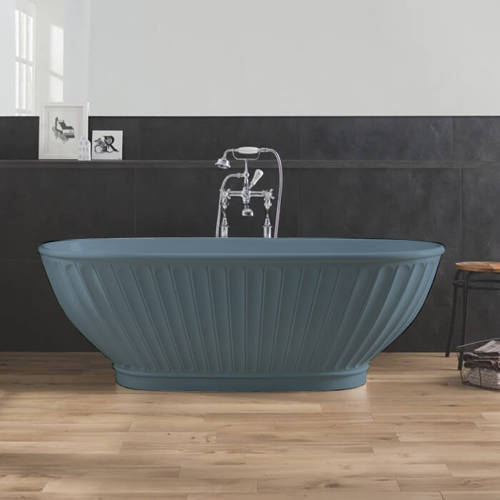 Additional image for Casini ColourKast Bath 1680mm (Powder Blue).