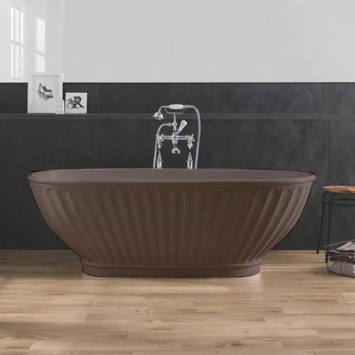 Additional image for Casini ColourKast Bath 1680mm (Mushroom).