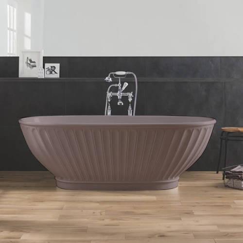 Additional image for Casini ColourKast Bath 1680mm (Satin Rose).