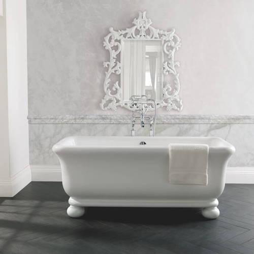 Additional image for Senator Bath With Feet 1804mm (Gloss White).