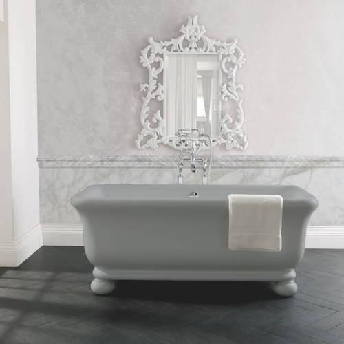 Additional image for Senator ColourKast Bath With Feet 1804mm (Industrial Grey).