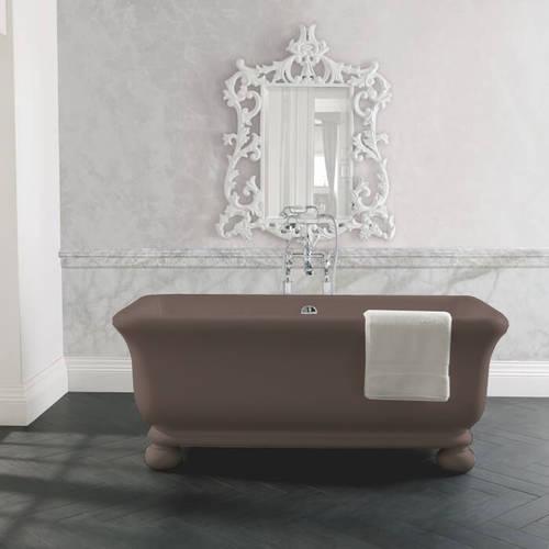 Additional image for Senator ColourKast Bath With Feet 1804mm (Mushroom).