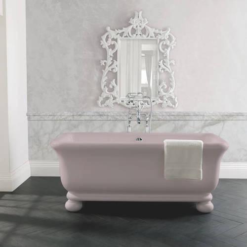 Additional image for Senator ColourKast Bath With Feet 1804mm (Satin Rose).