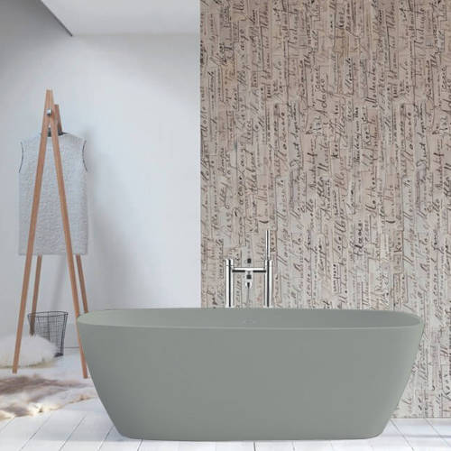 Additional image for Vive ColourKast Bath 1610mm (Industrial Grey).