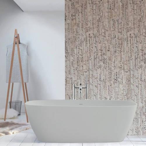 Additional image for Vive ColourKast Bath 1610mm (Powder Grey).
