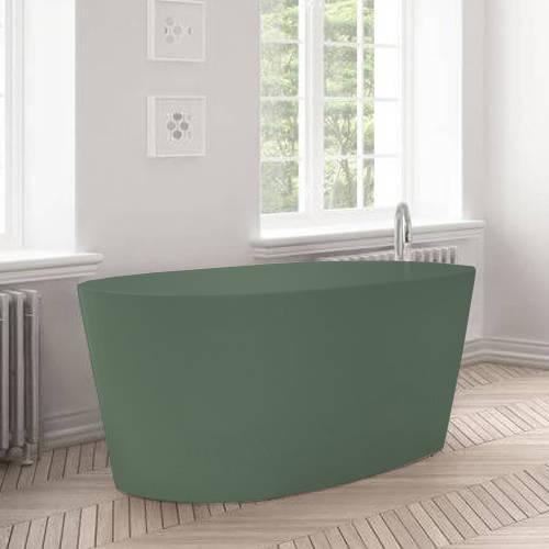 Additional image for Sorpressa ColourKast Bath 1510mm (Khaki Green).