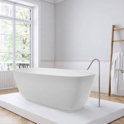 Additional image for Divita Bath 1495mm (Matt White).