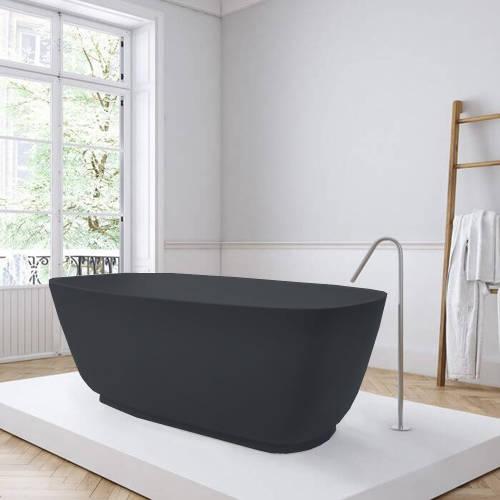 Additional image for Divita ColourKast Bath 1495mm (Gunmetal).