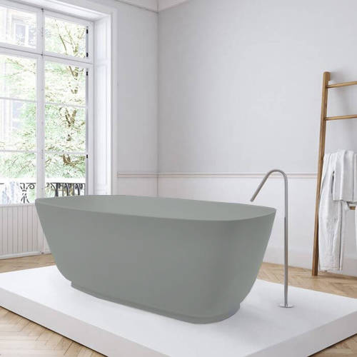 Additional image for Divita ColourKast Bath 1495mm (Industrial Grey).