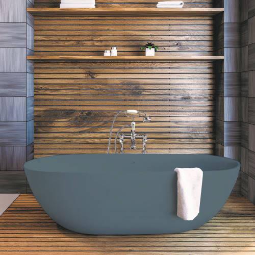 Additional image for Crea ColourKast Bath 1665mm (Powder Blue).