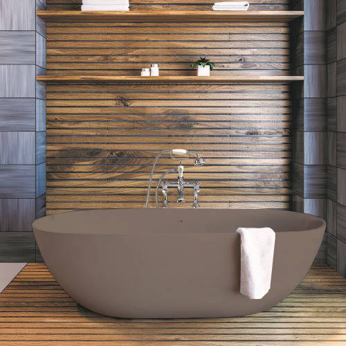 Additional image for Crea ColourKast Bath 1665mm (Mushroom).