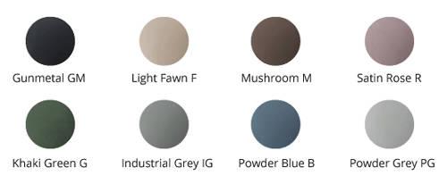 Additional image for Kurv ColourKast Basin 615mm (Powder Grey).