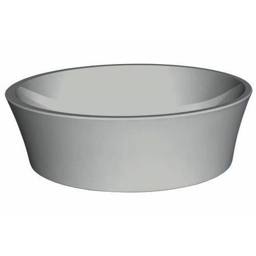 Additional image for Delicata ColourKast Basin 450mm (Powder Grey).