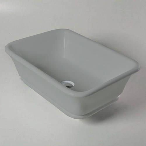 Additional image for Magnus / Senator ColourKast Basin 525mm (Industrial Grey).
