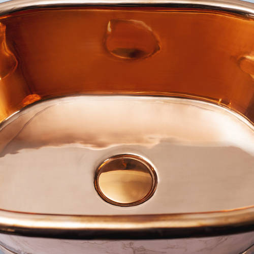 Additional image for Copper Basin 530mm (Copper Inner/Copper Outer).