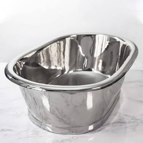 Additional image for Nickel Basin 530mm (Nickel Inner/Nickel Outer).