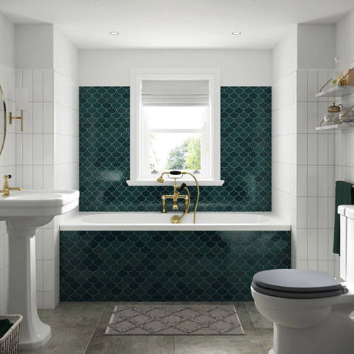 Additional image for Lambert Double Ended Bath 1700x700mm (White).