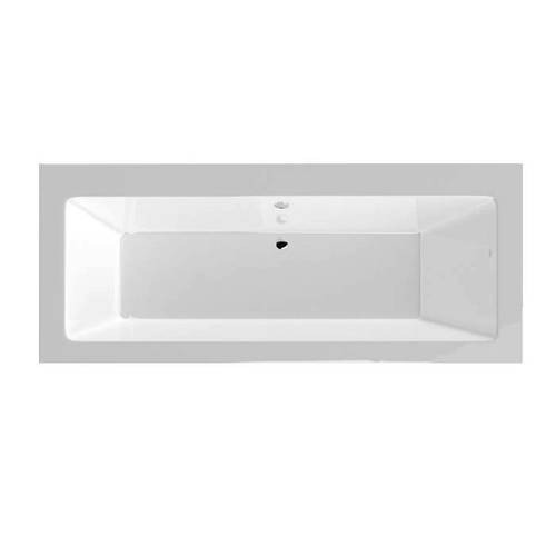 Additional image for Durham Double Ended Bath With Panel 1700x700mm (White).