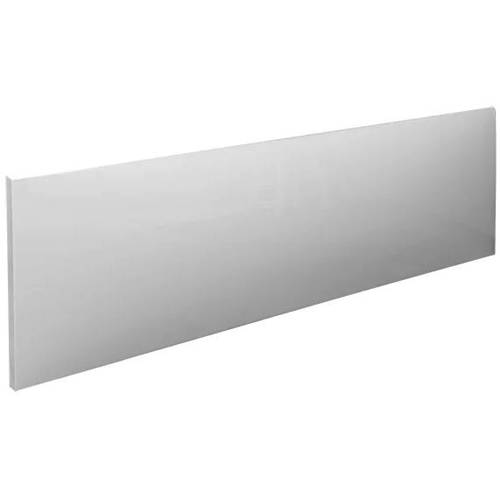 Additional image for SolidBlue Reinforced Front Bath Panel 1500x520mm (White).