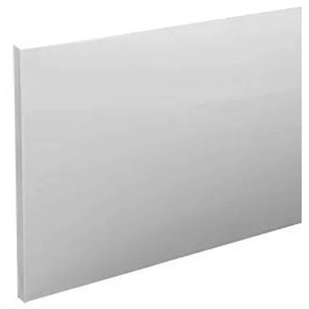 Additional image for SolidBlue Reinforced End Bath Panel 750x520mm (White).