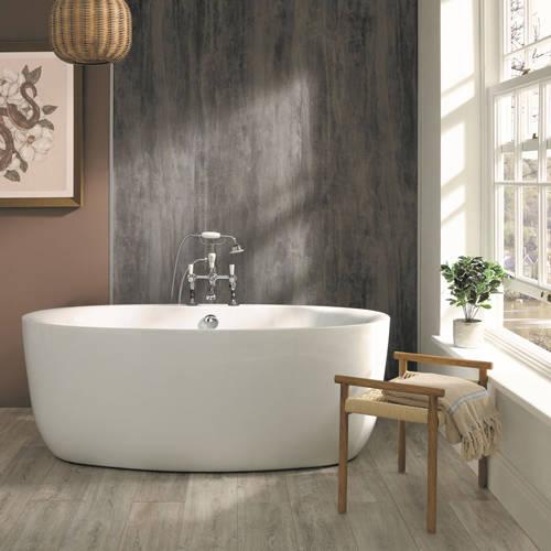 Additional image for Tamorina Freestanding Bath 1700mm (Gloss White).