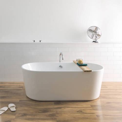 Additional image for Viado Bath 1580mm (Gloss White).