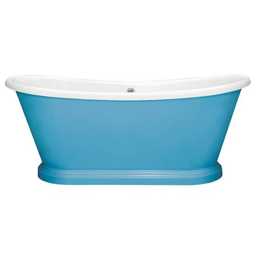 Additional image for Painted Acrylic Boat Bath 1700mm (White & Route One).