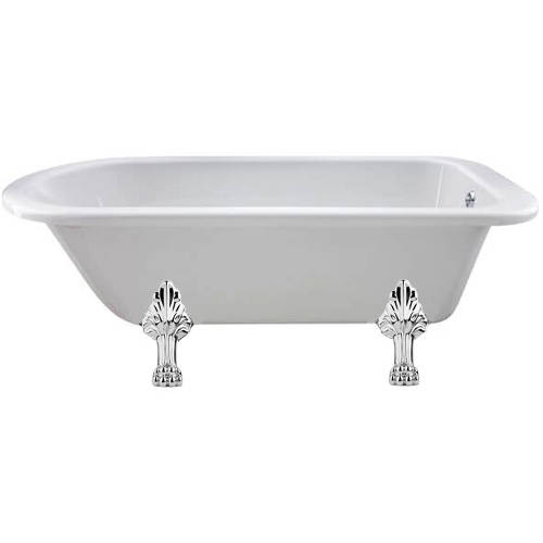 Additional image for Mistley Single Ended Bath 1700mm With Feet Set 2 (White).