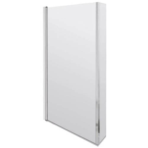 Additional image for Fixed L Shaped Shower Bath Screen 808x1400mm.