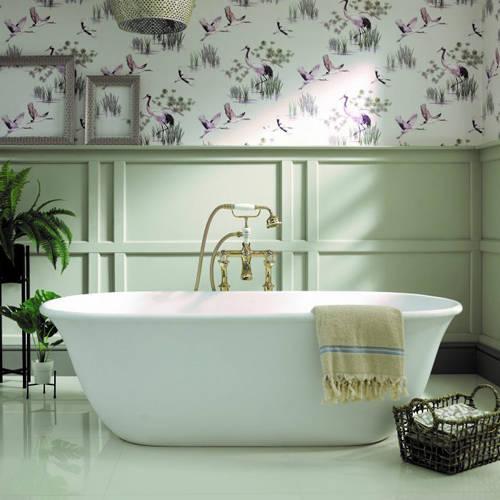 Additional image for Omnia Bath 1615mm (Matt White).