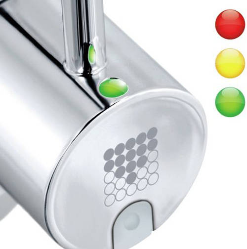 Additional image for Dolce 3 In 1 Filter Kitchen Tap With LED Lights (Chrome).