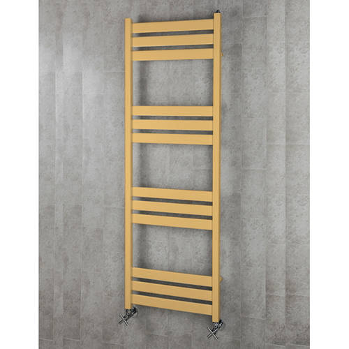 Additional image for Heated Towel Rail & Wall Brackets 1500x500 (Beige).