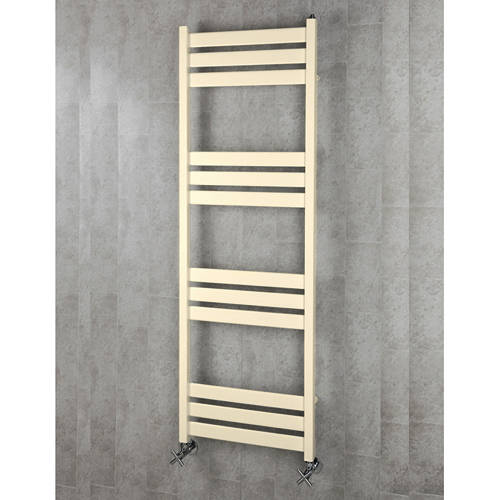 Additional image for Heated Towel Rail & Wall Brackets 1500x500 (Oyster White).