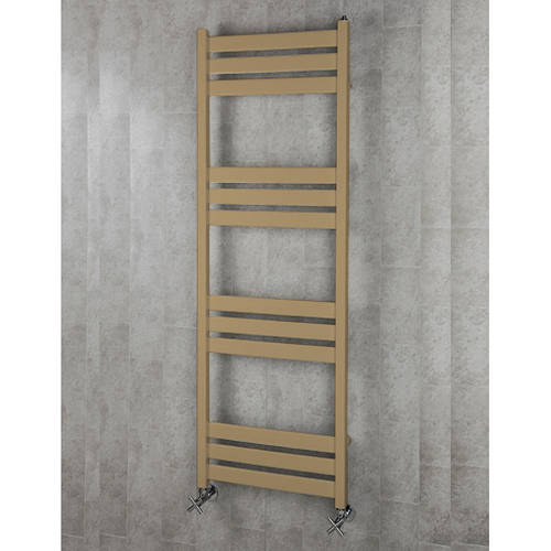 Additional image for Heated Towel Rail & Wall Brackets 1500x500 (Grey Beige).