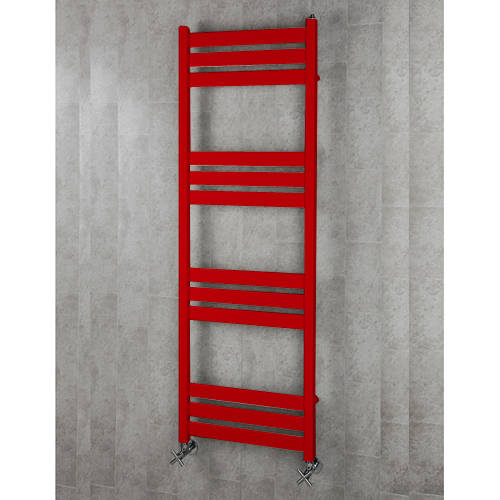 Additional image for Heated Towel Rail & Wall Brackets 1500x500 (Flame Red).