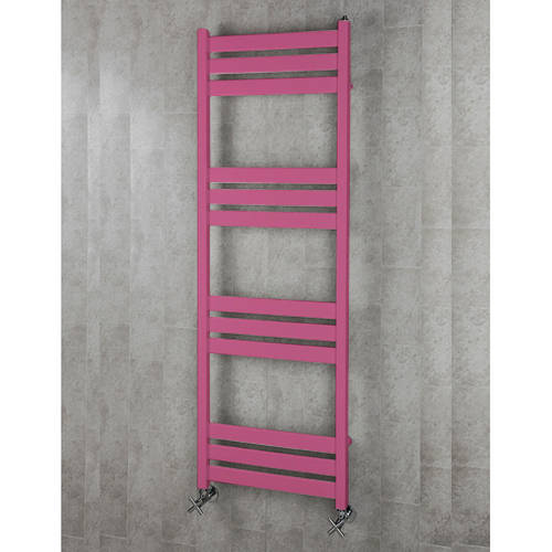Additional image for Heated Towel Rail & Wall Brackets 1500x500 (Heather Violet).