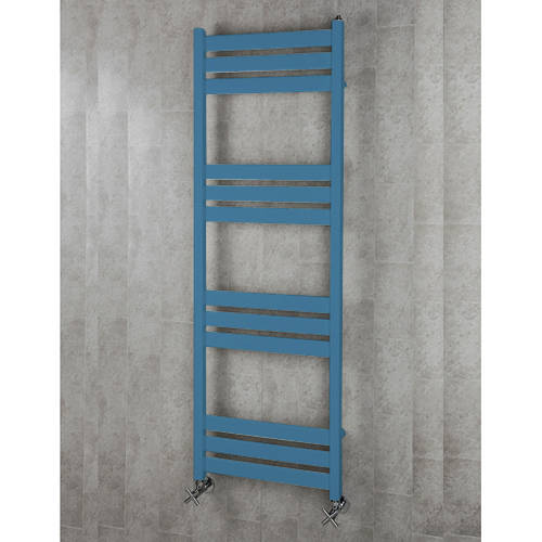 Additional image for Heated Towel Rail & Wall Brackets 1500x500 (Pastel Blue).