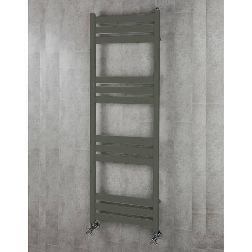 Additional image for Heated Towel Rail & Wall Brackets 1500x500 (Grey Olive).