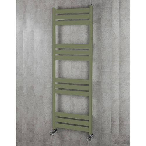Additional image for Heated Towel Rail & Wall Brackets 1500x500 (Reed Green).