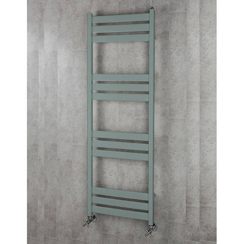 Additional image for Heated Towel Rail & Wall Brackets 1500x500 (Traffic Grey A).