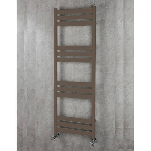 Additional image for Heated Towel Rail & Wall Brackets 1500x500 (Pale Brown).